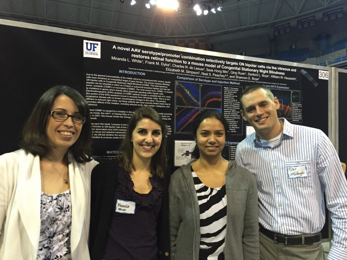Tyler's first poster presentation at UF's Celebration of Research